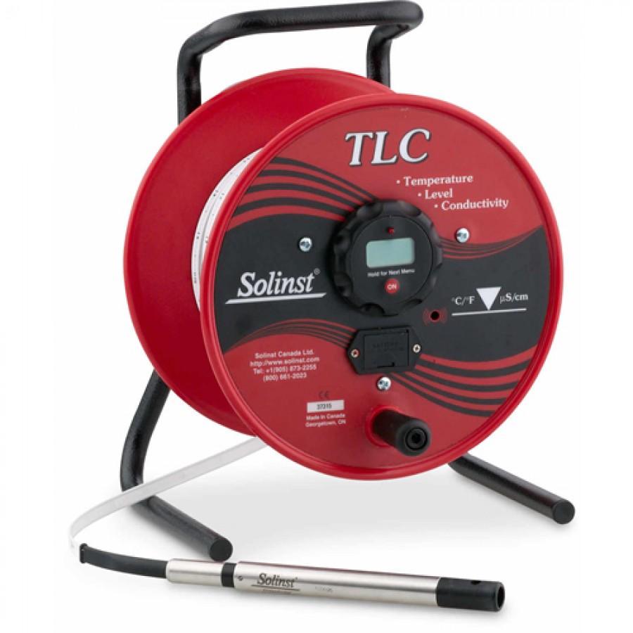 Solinst 110286 Model 107 TLC Temperature/Level/Conductivity Meter, 100m