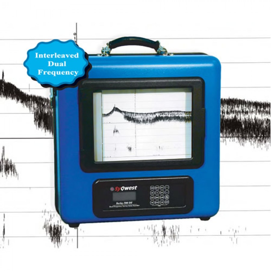 SyQwest Bathy-500DF Dual-Frequency Survey Echosounder