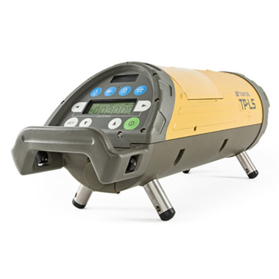 Topcon TP L5AV Red Beam Pipe Laser with Laser Plumb