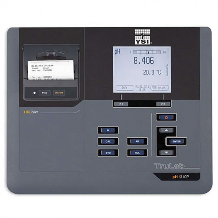 YSI TruLab 1AA320PY (1310P) pH Benchtop Meter with Printer