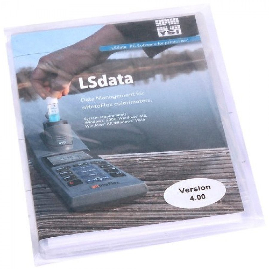 YSI 199163Y pHotoFlex LSdata Software for Data Management and Data Transfer