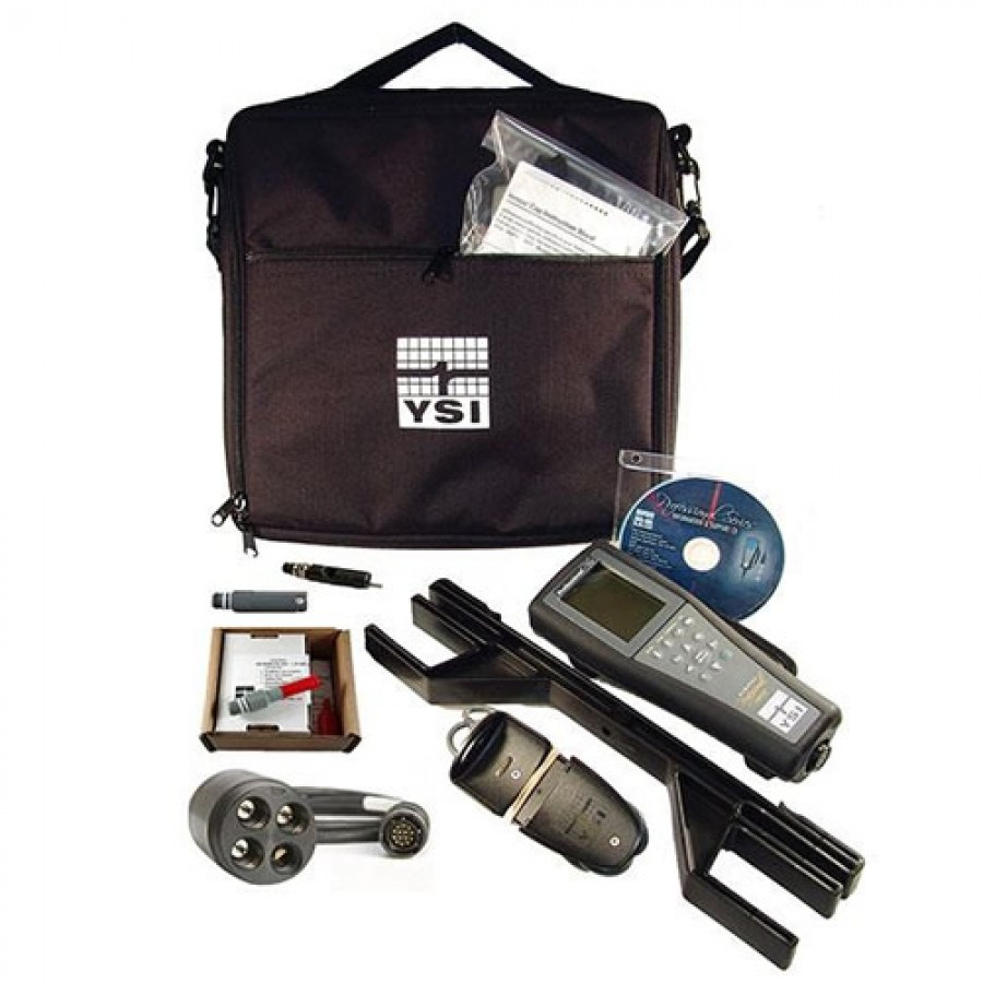 YSI Professional Plus (603187) pH/Galvanic Dissolved Oxygen 1020 Kit, 10 Meter