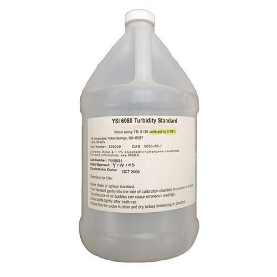 YSI 608000 Turbidity Standard, 0 FNU (1 gallon, 3.78 l)